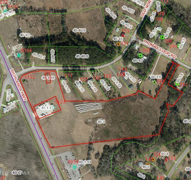 Richlands, 100021774, Jacksonville, Commercial/Industrial,  for sale, Realty World Swansboro Properties
